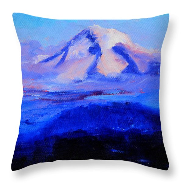 From Portland Throw Pillow by Nancy Merkle