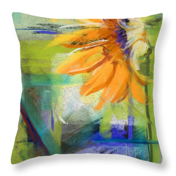 From The Soil Throw Pillow by Tracy L Teeter