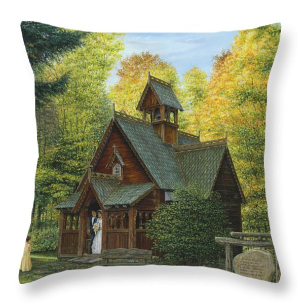 From This Day Forward Throw Pillow by Doug Kreuger