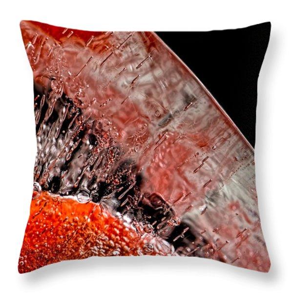 Frozen Balls Throw Pillow by Bob Orsillo