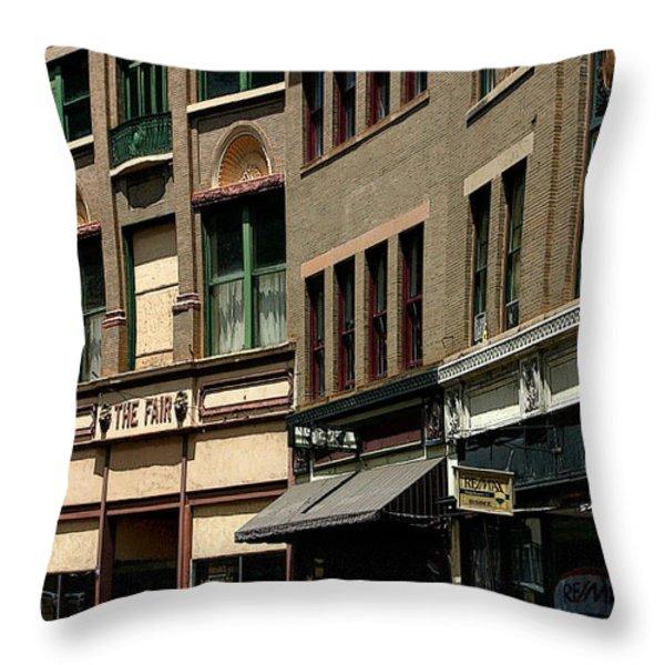 Frozen in Time Throw Pillow by Joe Kozlowski
