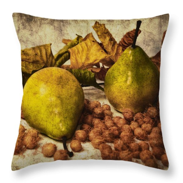 Fruits Throw Pillow by Angela Doelling AD DESIGN Photo and PhotoArt