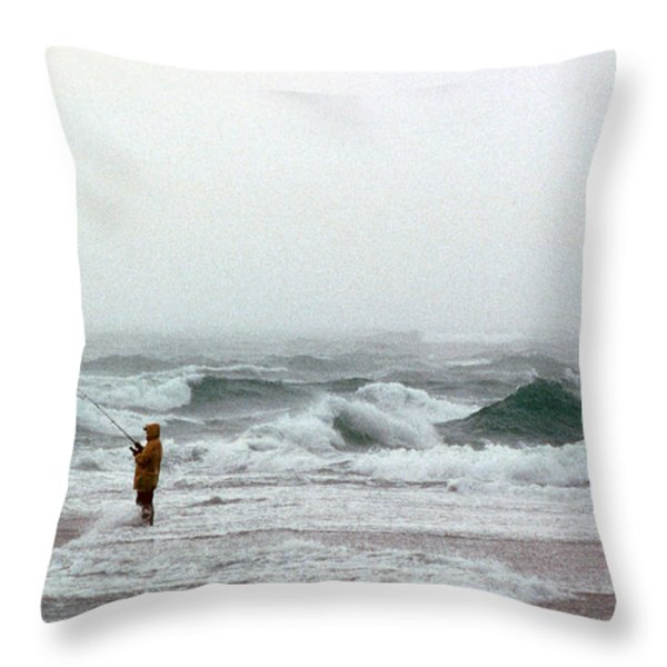Furious Solitude Throw Pillow by Skip Willits