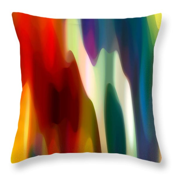 Fury 3 Throw Pillow by Amy Vangsgard