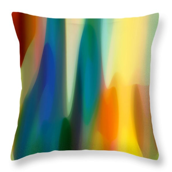 Fury 6 Throw Pillow by Amy Vangsgard