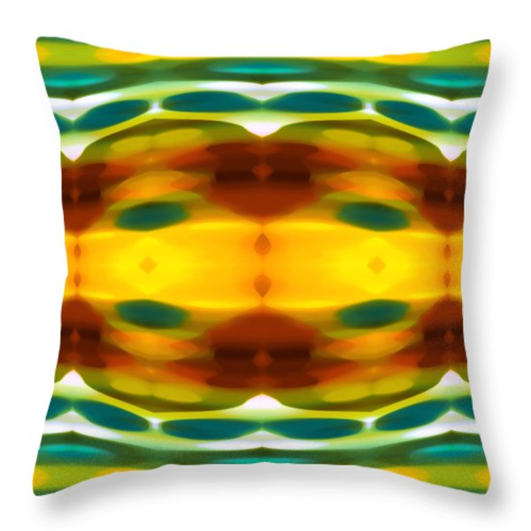 Fury Pattern 5 Throw Pillow by Amy Vangsgard