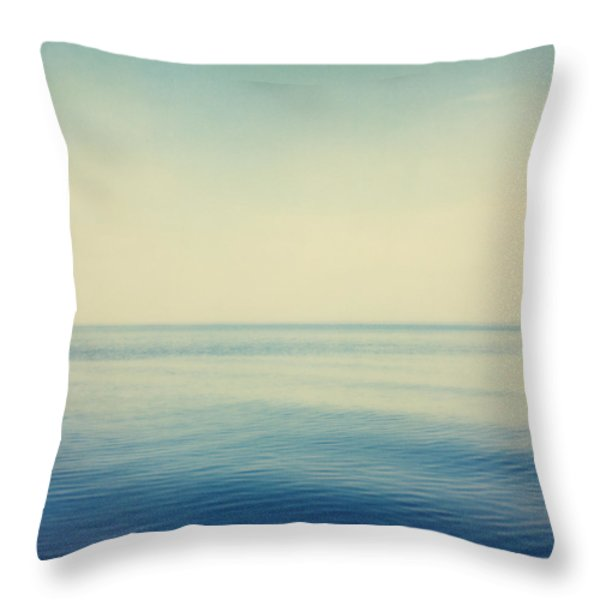 Fv4281, Bert Klassen Water And Sky Throw Pillow by Bert Klassen