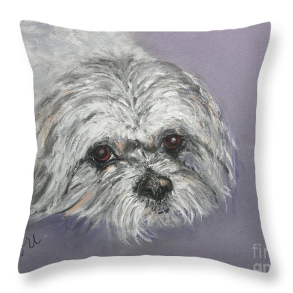 Gabby Throw Pillow by Cori Solomon