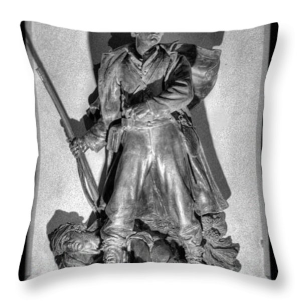 Gabriel James Boney Throw Pillow by JC Findley