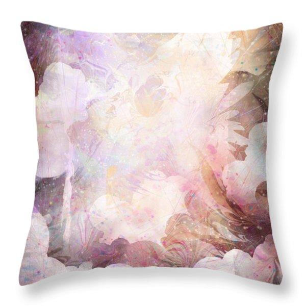 Gabriel Throw Pillow by Rachel Christine Nowicki
