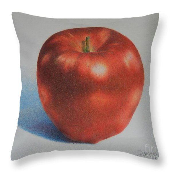 Gala Throw Pillow by Pamela Clements