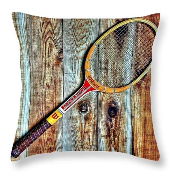 Game of Love Throw Pillow by Benjamin Yeager