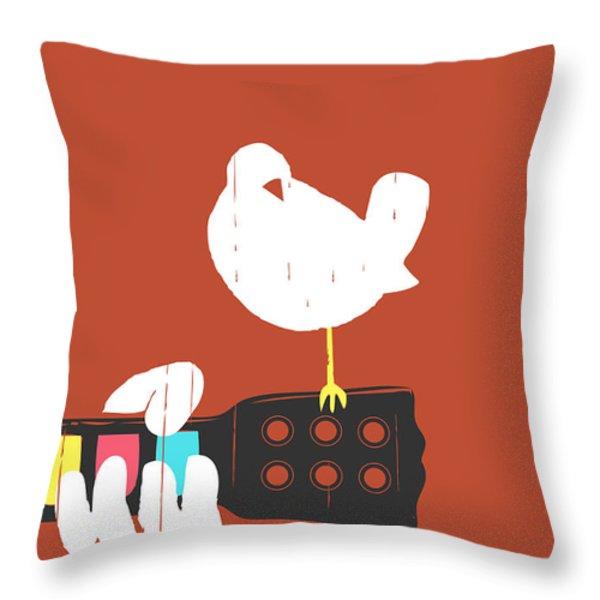 Game on Throw Pillow by Budi Satria Kwan