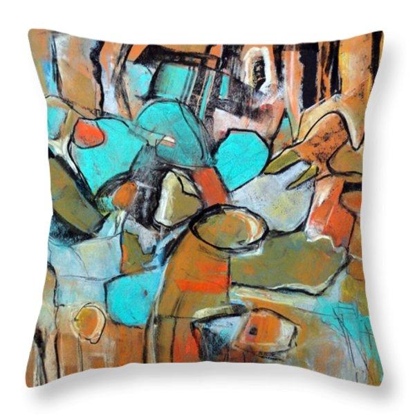 Gateway Throw Pillow by Katie Black