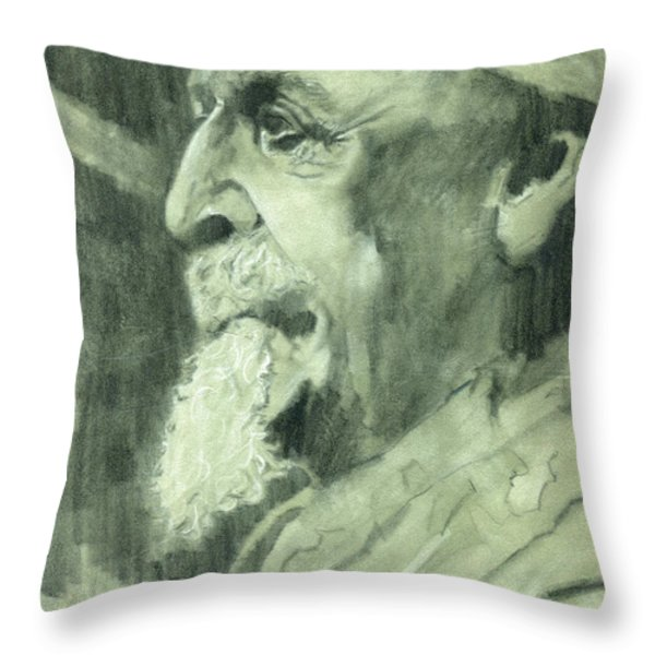 General Lee Throw Pillow by Luis  Navarro