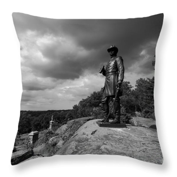 General Warrens Finest Hour Throw Pillow by James Brunker