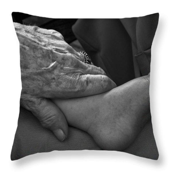 Generations Throw Pillow by Joseph Duba
