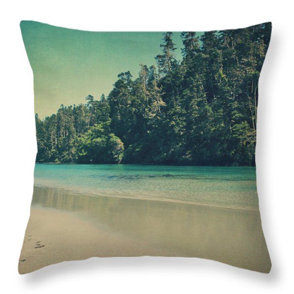 Gentle Musings Throw Pillow by Laurie Search