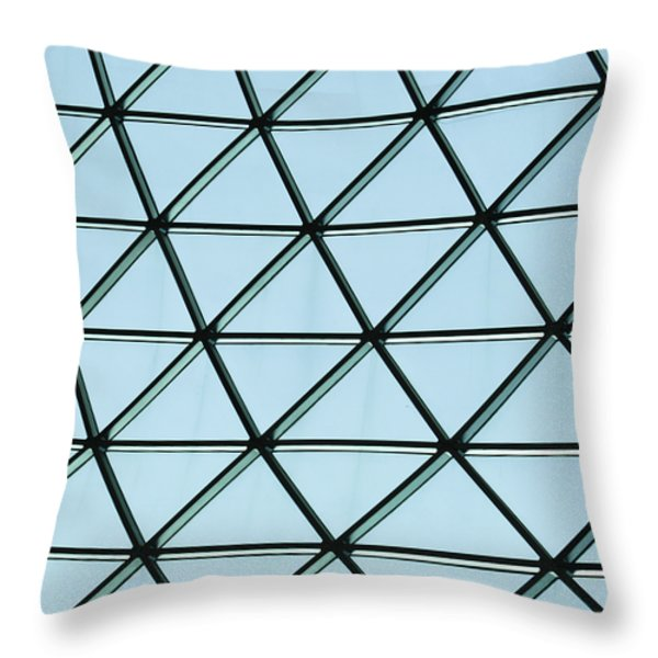 Geometric Charm Throw Pillow by Christi Kraft