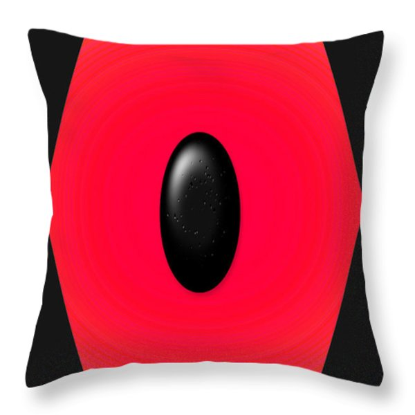 Geometric Shape Abstract 9 Throw Pillow by Tina M Wenger