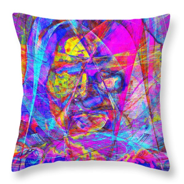 Geronimo 20130611gre-p180 Throw Pillow by Wingsdomain Art and Photography