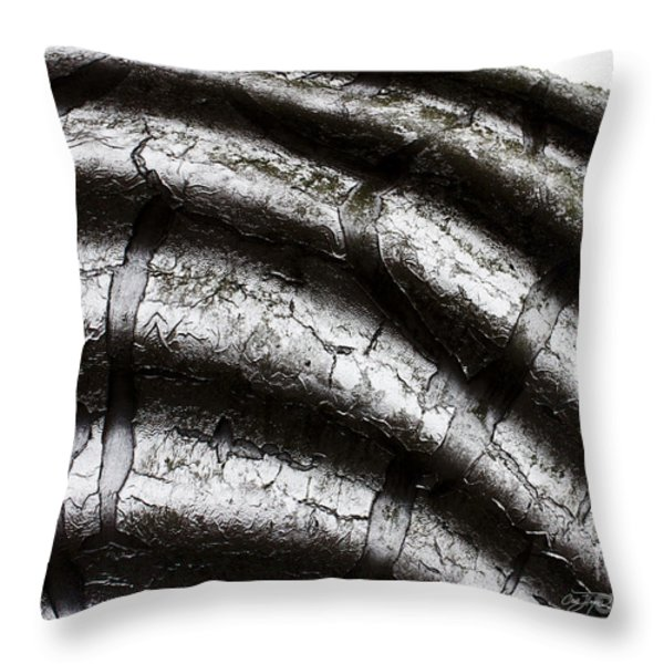 Get Bent  Throw Pillow by Cris Hayes