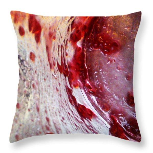 Getaway Jar Throw Pillow by Martin Howard