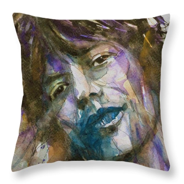 Gimmie Shelter Throw Pillow by Paul Lovering