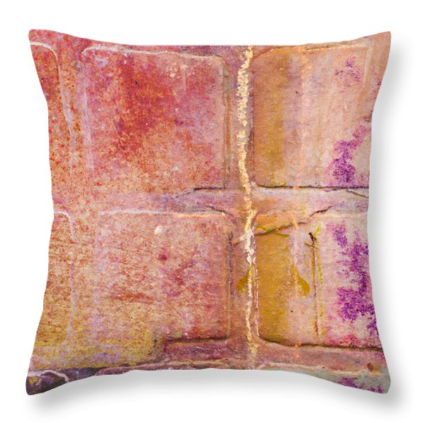 Glass Crossings 2 Throw Pillow by Carol Leigh
