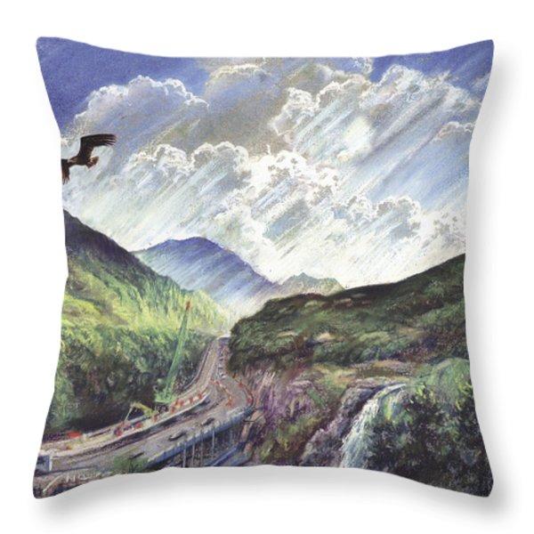 Glencoe Throw Pillow by Steve Crisp