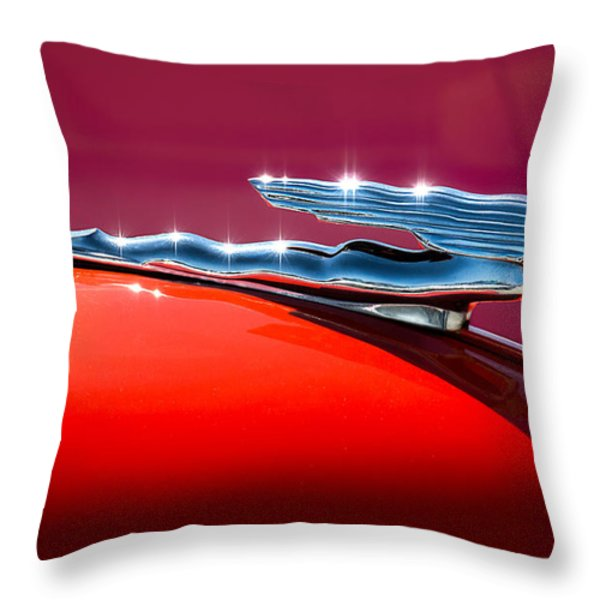 Glinted Beauty Throw Pillow by Douglas Pittman