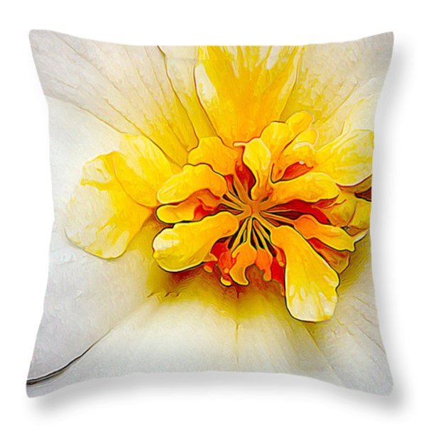 Glowing Softly Throw Pillow by Bill Caldwell -        ABeautifulSky Photography