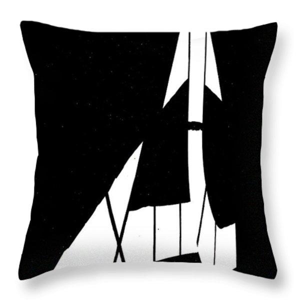 Go back or go left Throw Pillow by Bob Orsillo
