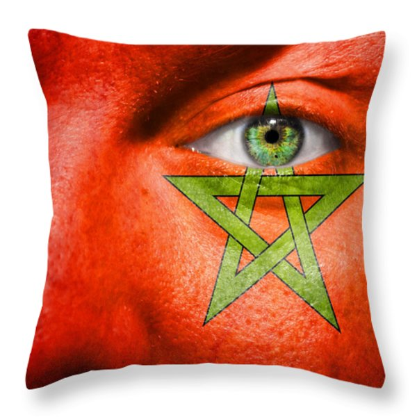 Go Morocco Throw Pillow by Semmick Photo
