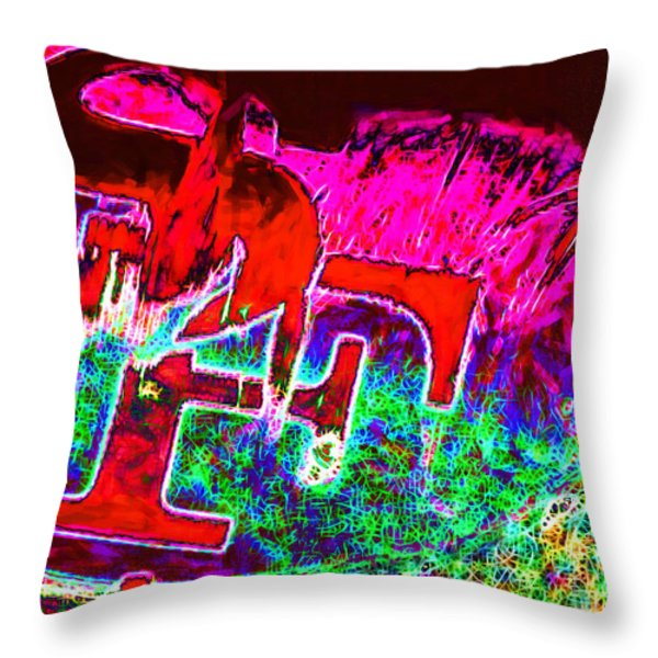 Go Niners 20130115 Throw Pillow by Wingsdomain Art and Photography