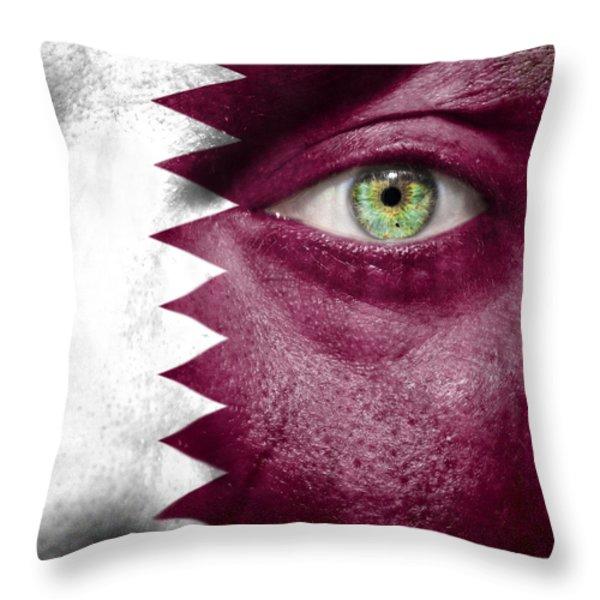 Go Qatar Throw Pillow by Semmick Photo