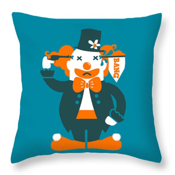 Go with a bang Throw Pillow by Budi Satria Kwan