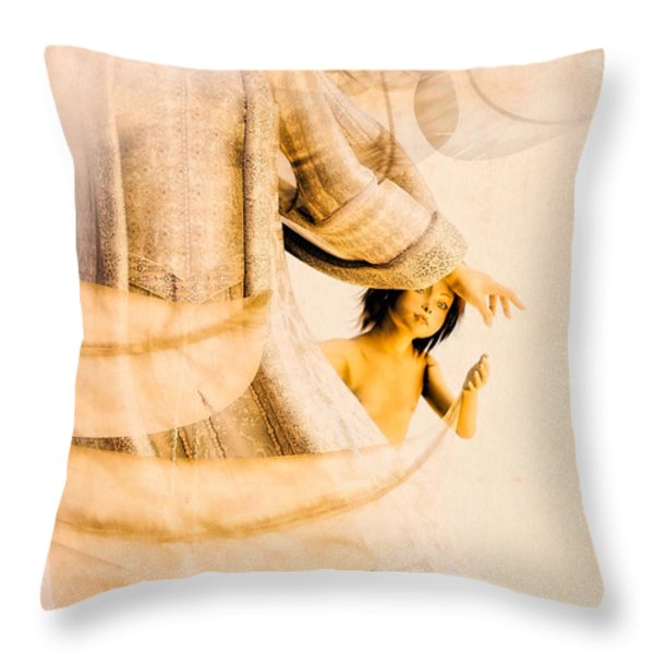 God Bless This Child Throw Pillow by Bob Orsillo