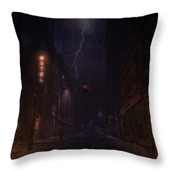 God Sweep Throw Pillow by Kylie Sabra
