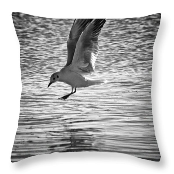 Going Fishing Throw Pillow by Stylianos Kleanthous