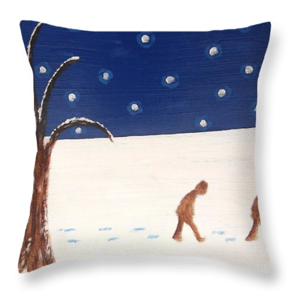 Going Home  Throw Pillow by Patrick J Murphy