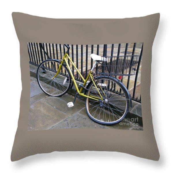 Going Nowhere Throw Pillow by Ann Horn