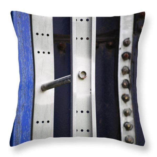 Going Up Throw Pillow by Christi Kraft