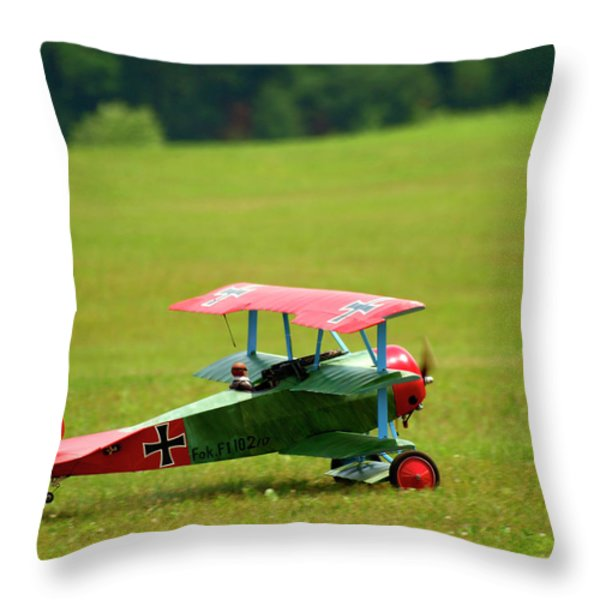 Going Up Throw Pillow by Thomas Young