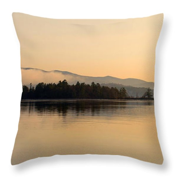 GOLDEN HOURS Throw Pillow by Skip Willits