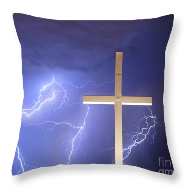 Good Friday Throw Pillow by James BO  Insogna