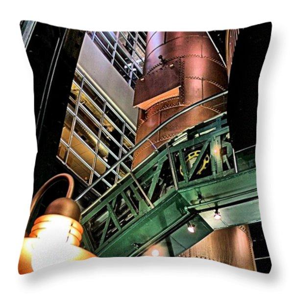 Good Ol' Daze Throw Pillow by Robert McCubbin