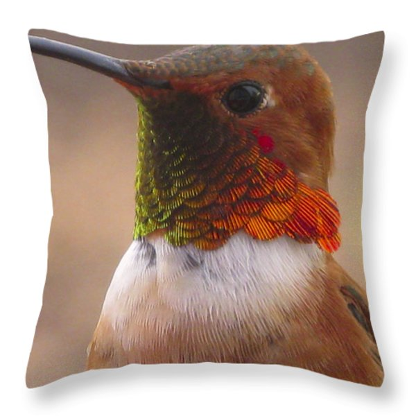 Gorgeous George Throw Pillow by Diane Schuster