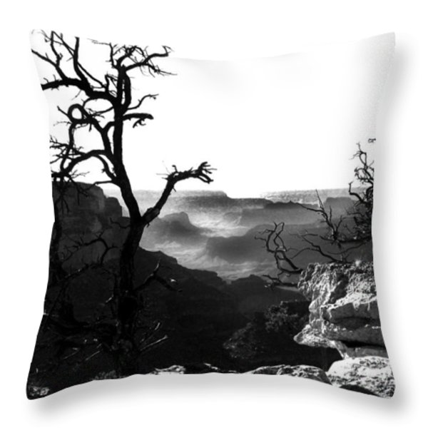 Grand Nature Throw Pillow by Camille Lopez