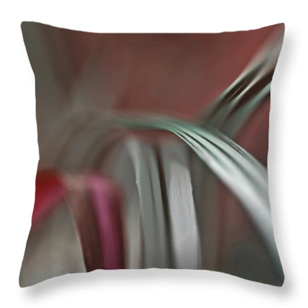 Grass Throw Pillow by Eiwy Ahlund